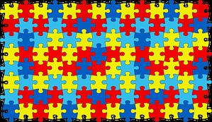 jigsaw colored